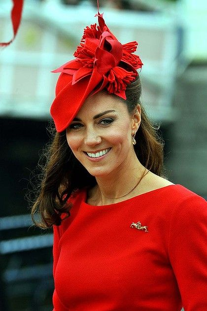 the Duchess of Cambridge at the Queen's Jubliee, photo: AFP