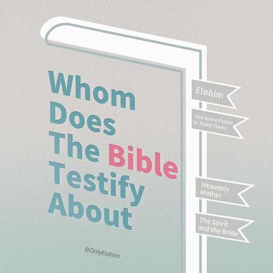 Whom does the Bible testify about?