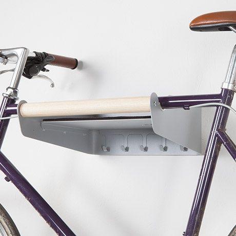 Fahrrad-Garderobe - Silber/Gr - alt_image_three
