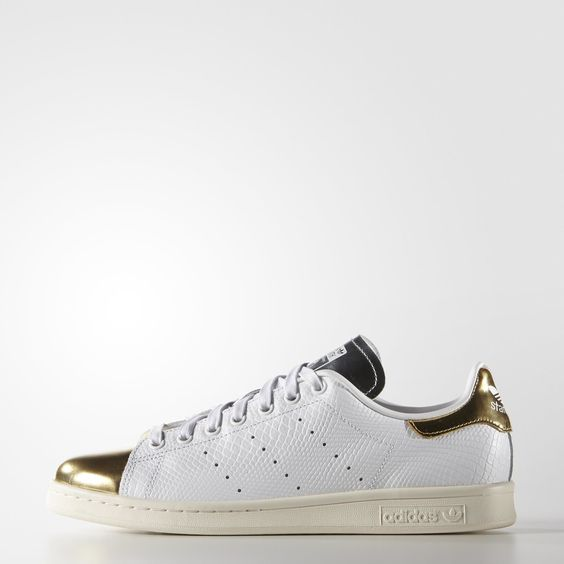 Chaussure Stan Smith Doré