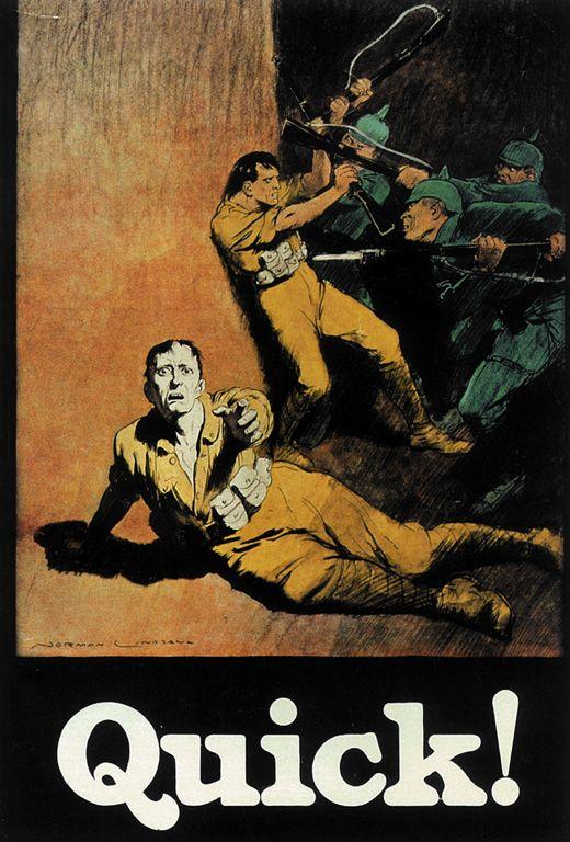 WW1 Australia Propaganda Poster