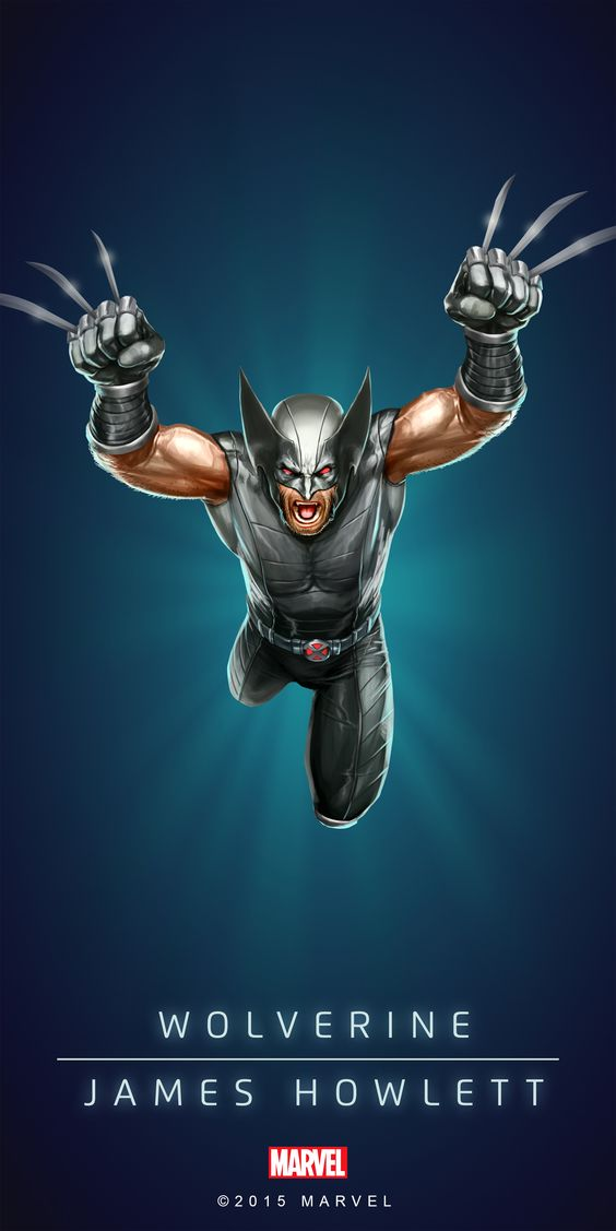#Wolverine #Fan #Art. (WOLVERINE - JAME HOWLETT - X-FORCE IN: MARVEL'S PUZZLE QUEST!) BY: AMADEUS CHO! (THE * 5 * STÅR * ÅWARD * OF: * AW YEAH, IT'S MAJOR ÅWESOMENESS!!!™)[THANK U 4 PINNING!!!<·><]<©>ÅÅÅ+(OB4E)(IT'S THE MOST ADDICTING GAME ON THE PLANET, YOU HAVE BEEN WARNED!!!)