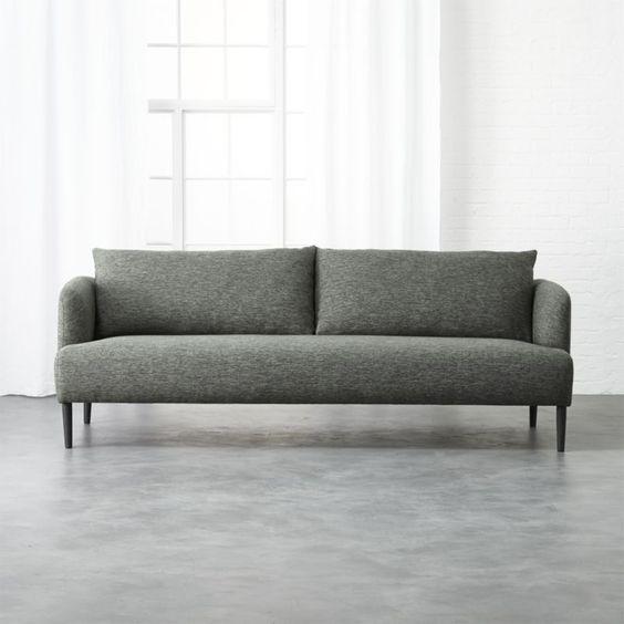 Ronan Grey Sofa Reviews Lake Geneva Gray Sofa Most Comfortable Sofa Bed Comfortable Sofa