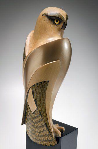 Karearea • Falcon Rex Homan, Māori umělce (KR140901):
