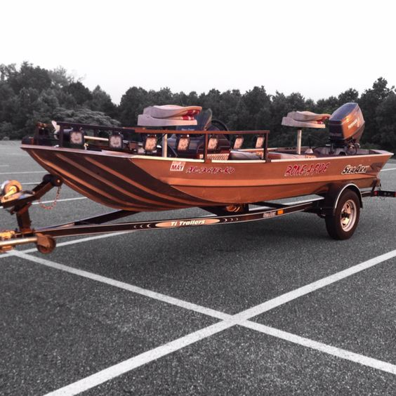 Pinterest the world s catalog of ideas for Bow fishing boats