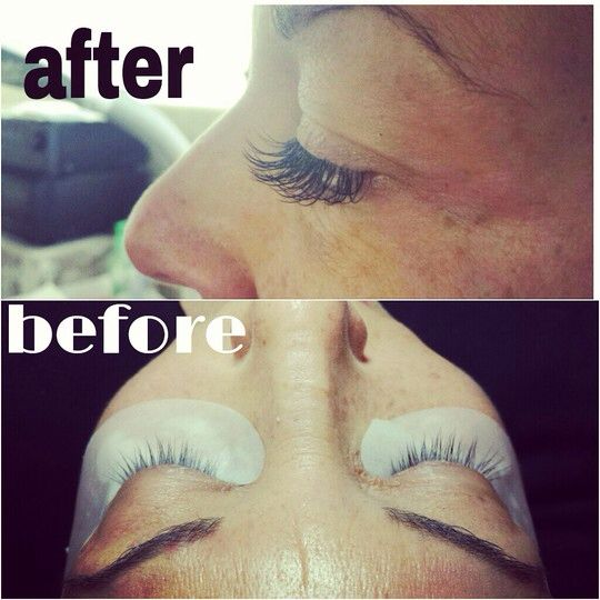 Lashes, Lash extensions and Extensions on Pinterest
