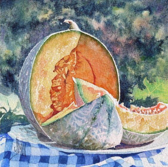Le melon | Joël SIMON