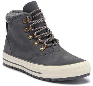 Fur lined boots, Converse chuck taylor