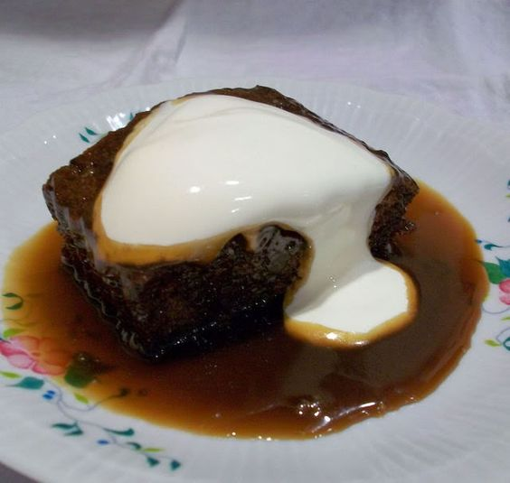 Sticky Toffee Puddingfrom The English Kitchen
