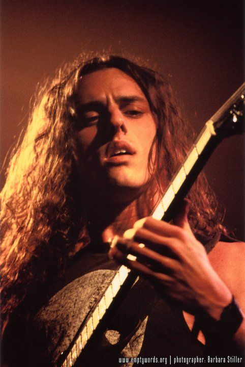 Chuck Schuldiner of Death,  b. May 13, 1967  d. December 13, 2001