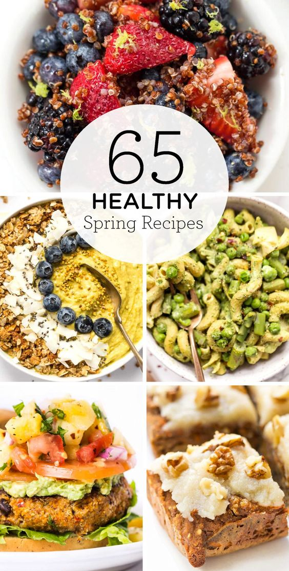 65 Healthy Spring Recipes | Breakfast, Lunch & Dinner - Simply Quinoa