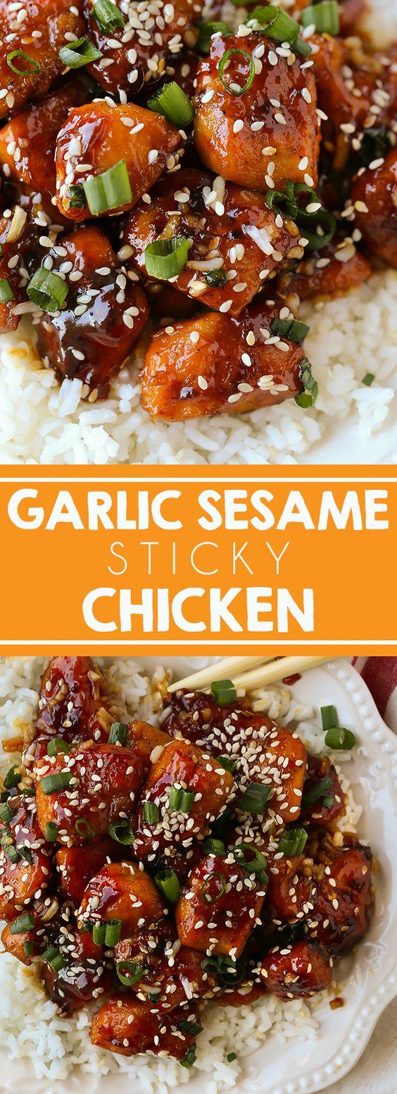 Garlic Sesame Chicken