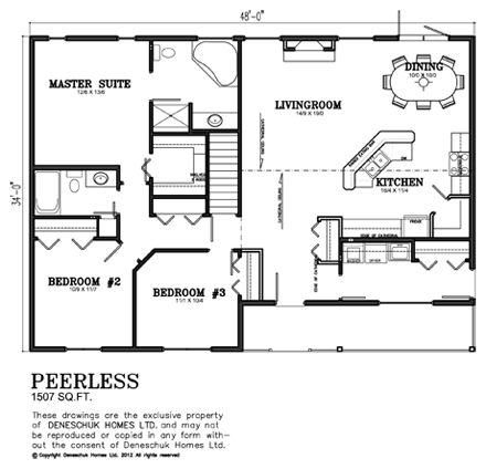 Deneschuk Homes 1500 1600 Sq Ft Home Plans Rtm And