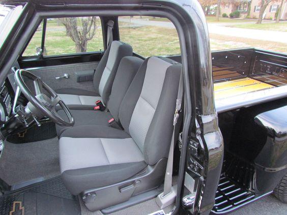 1971 Chevy Custom Truck Seats