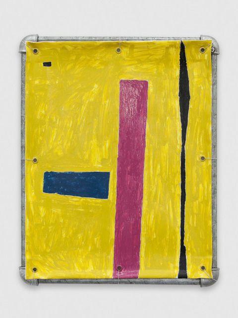 5 Hammer Blows, 2014, by Valentin Carron