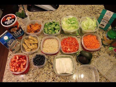Como organizarte para comer sano toda la semana youtube for Comida saludable para toda la semana