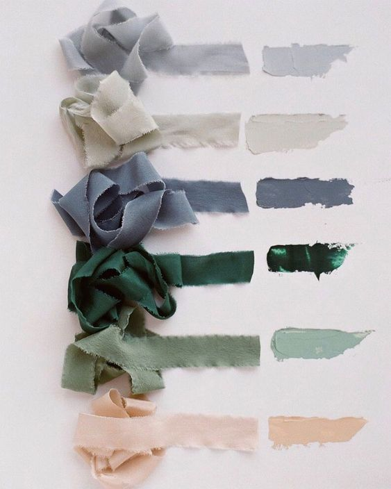 Amazing color palette that you actually can use in the real life #color #colors #green #emerald #neutral