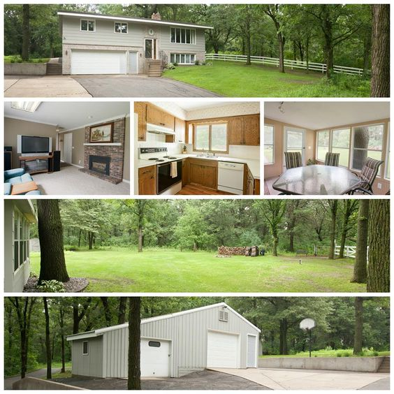 NEW LISTING!  Country living on the edge of town! Escape to 3 acres of heavily wooded seclusion just north of Sauk Rapids. Home has 3 bedrooms, 2 baths, a great sun room, 1,600 square feet, a 32 x 20 heated shop & lots of room to play and entertain outdoors!