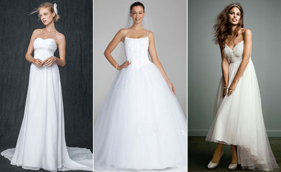 These David's Bridal Wedding Dress Are $99…Seriously! | TheKnot.com