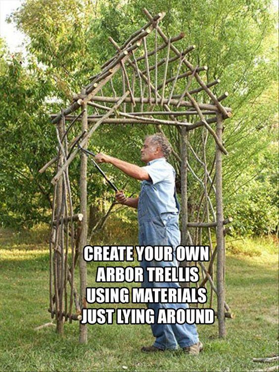 Arbors Trellis Trellis And Arbors On Pinterest