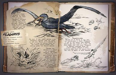 Pelagornis Dossier  #gaming #gamer #ark #survival #evolved