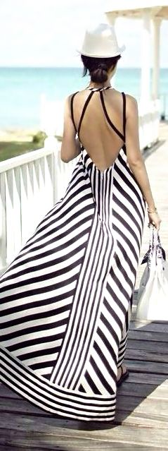directional stripes can be your friend if they aren't horizontal.