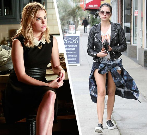 Ashley Benson Pretty Little Liars Style