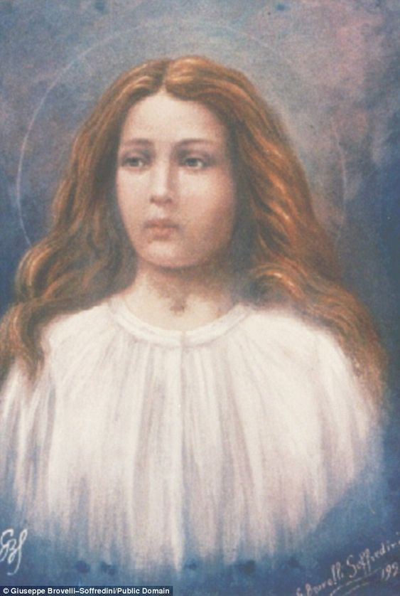 Forgiveness: As Saint Maria Goretti was on her death bed she held a picture of the Virgin Mary and forgave her attacker before tragically dying of her injuries. She became a saint in 1950.: