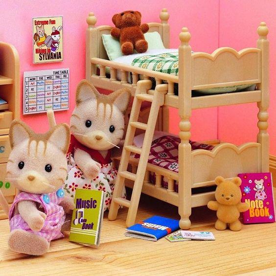 Set muebles habitaci�n ni�os - Sylvanian Families                              …: