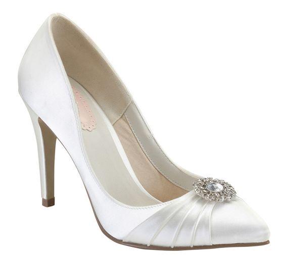 Honey Bridal Shoes Dyeable Wedding Shoes White Bridal Shoes Bride Shoes