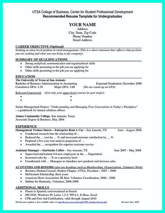 Code Clerk Sample Resume Nice Best College Student Resume Example To Get Job Instantly .