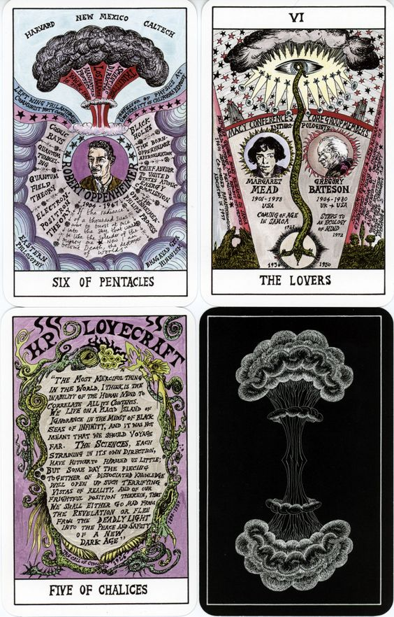 Top 5 Favorite Decks Judging From The Back Only - Aeclectic Tarot Forum
