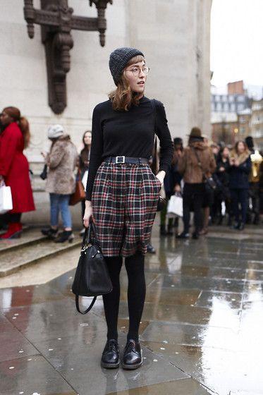 Get this look: http://lb.nu/look/5848611  More looks by Toni Caroline: http://lb.nu/tonicaroline  Items in this look:  Vintage Tartan Culottes