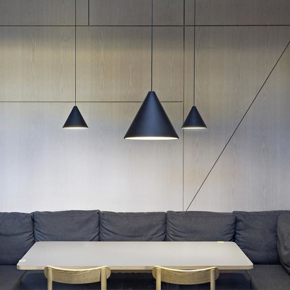 Start the week with everything in order. String Lights by Michael Anastassiades for #FLOS hang ...