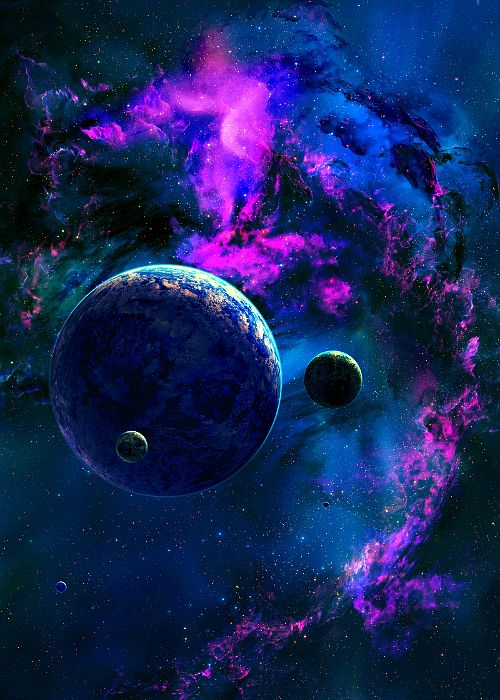 Astronomy outer space space universe stars nebulas for Outer space planets
