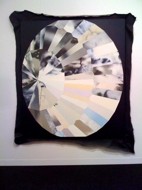 Kim Fisher - Full Moon, 2008, oil on linen,   72 x 63 in.
