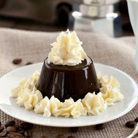 My guest post for Bizzy Lizzy's Good Things: Gelatina di caffe - Coffee Jello.