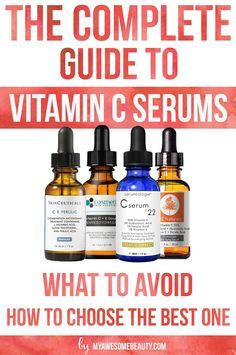 Pick the right vitamin C form for your vitamin C serum. Understand how to choose the best vitamin C serum for face #serum #vitaminC