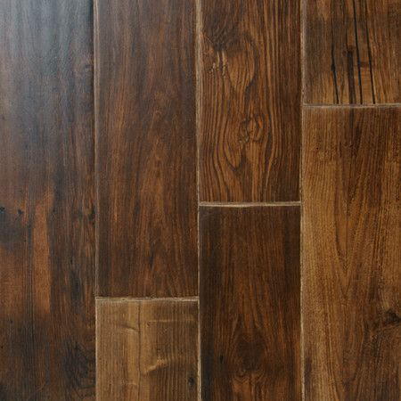 "Portofino 7"" x 48"" x 12.3mm Laminate Plank in Walnut"