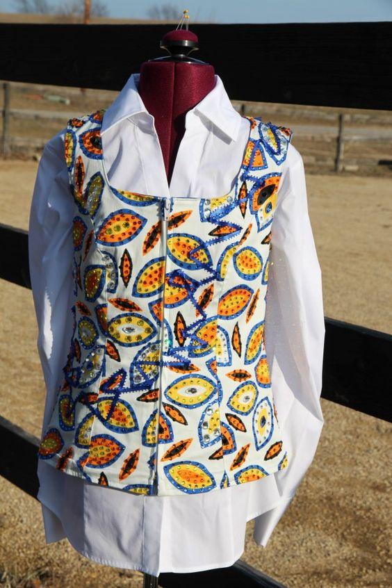 Sittin Pretty Show Clothing on FB!  Custom Western horse show clothing