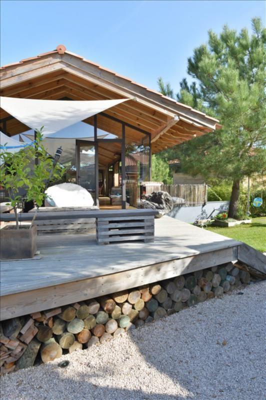 C te landaise cette maison d 39 architecte en bois et b ton for Table d architecte en bois