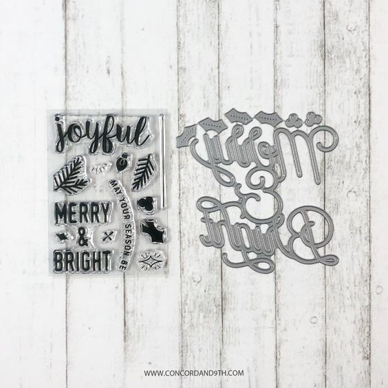 Merry & Bright BUNDLE - Concord & 9th