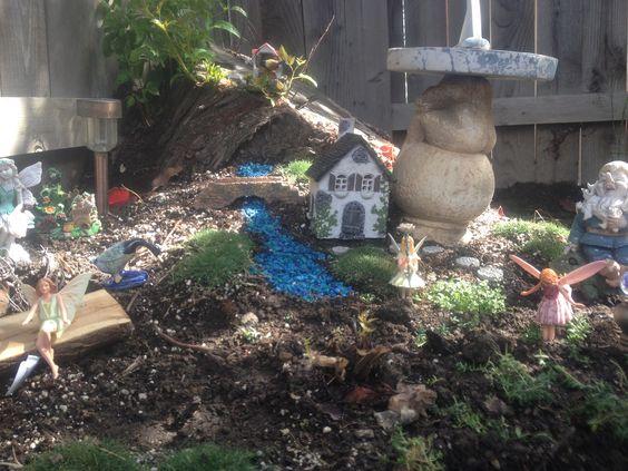 Miniature Fairy Garden by Melody Christensen