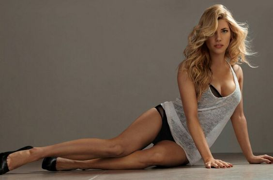 Kathryn Winnick long legs