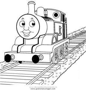 Malvorlage Thomas Und Seine Freunde Thomas Train 11 Ausmalen Fur Kinder Malvorlagen Malvorlagen Gratis