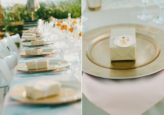 Outside!! Loving just the glass   California vineyard wedding | photo by Chantel Marie | 100 Layer Cake