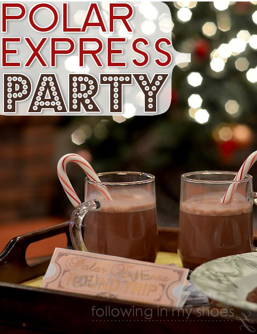 polar express party plan   Planning Holiday Parties For Kids {and a ...
