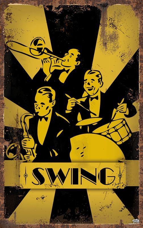 swing bands of the 30s and 40s meet