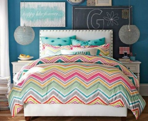 Ideas para decorar dormitorios de chicas adolescentes - DecorarHogar - decoracion de cuartos