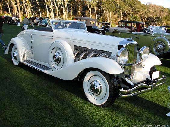 1935 Duesenberg SJN Convertible Coupe: